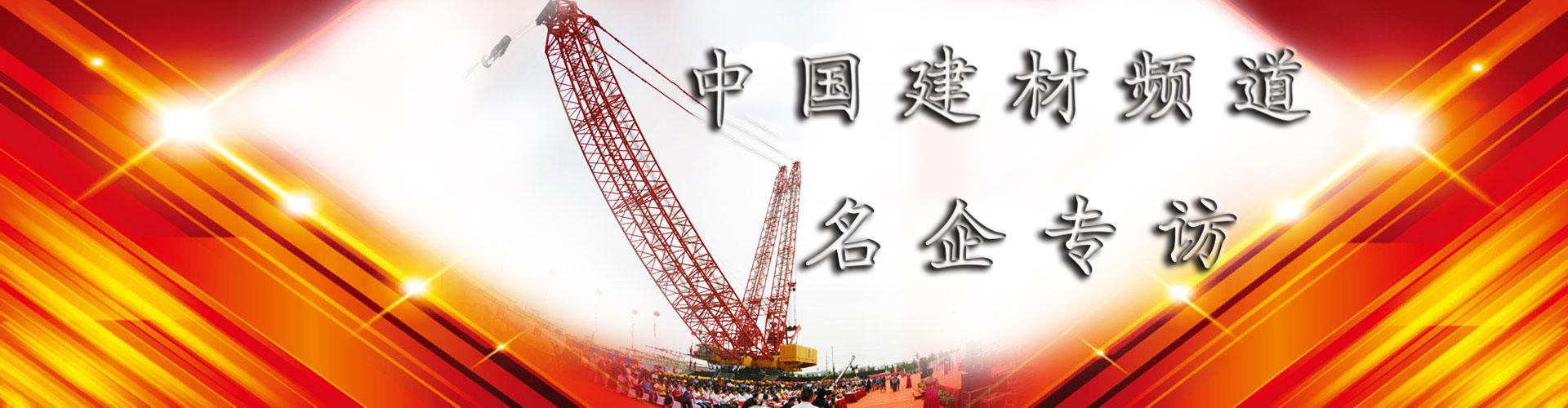 热点访谈-中国建材频道